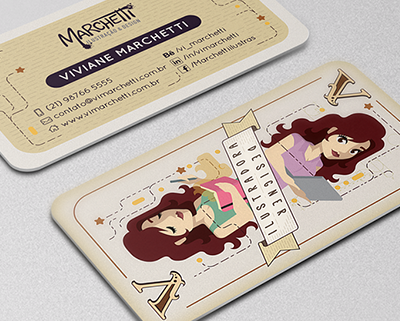 Vi Marchetti – Business Card